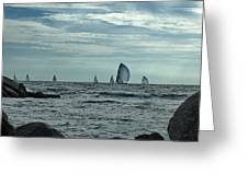 Afternoon Sail Greeting Card