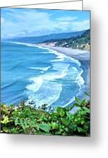 Agate Beach Greeting Card