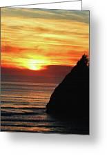 Agate Beach Oregon Greeting Card