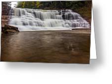 Agate Falls Greeting Card