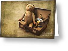 Aged Toys Greeting Card
