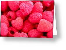 Agenda For Today ... Raspberry Jam Greeting Card by Gwyn Newcombe