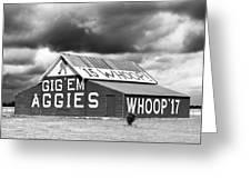 Aggie Barn #2 Greeting Card