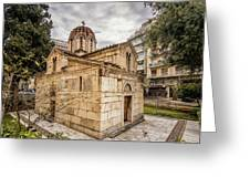 Agios Eleftherios Church Greeting Card by James Billings