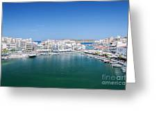 Agios Nikolaos Overview Greeting Card