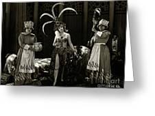 Agnes Ayres The Heart Raider 1923 Greeting Card
