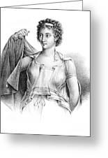 Agnodice, Ancient Greek Physician, 4th Greeting Card