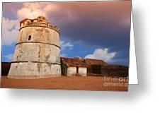 Aguada Fort Goa Greeting Card
