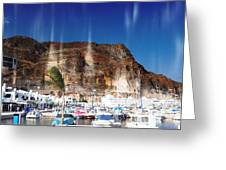 Aguadulce Port Greeting Card