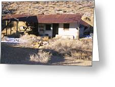 Aguereberry Camp - Death Valley Greeting Card
