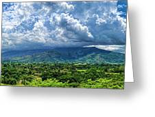 Aguirre Valley Greeting Card