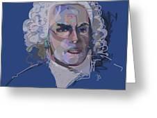 Ah, Bach Greeting Card