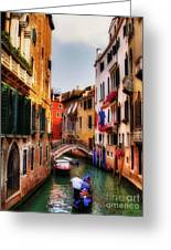 Ahh Venezia Greeting Card
