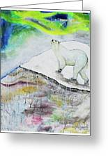 Ahroarah Borealis Greeting Card