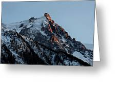 Aiguille Du Midi Chamonix French Alps Greeting Card by Pierre Leclerc Photography