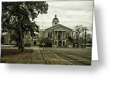 Aiken County Courthouse Greeting Card