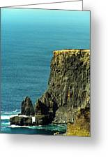 Aill Na Searrach Cliffs Of Moher Ireland Greeting Card