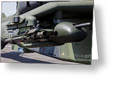 Aim-92 Stinger Weapon And Gunpod Greeting Card
