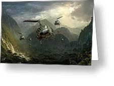Air Assault Greeting Card