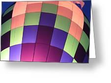 Air Balloon Greeting Card