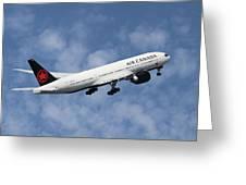 Air Canada Boeing 777-233 Greeting Card