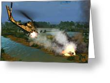 Air Conflicts Vietnam Front Greeting Card