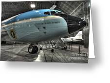 Air Force One - Boeing Vc-137c Sam 26000 Greeting Card