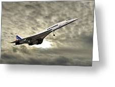 Air France Concorde 115 Greeting Card