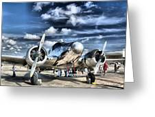 Air Hdr Greeting Card by Arthur Herold Jr