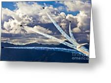 Air-show Greeting Card
