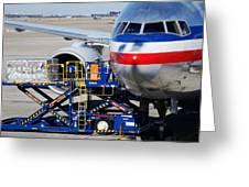 Air Transportation. Greeting Card by Fernando Barozza