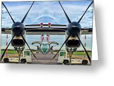 Aircraft Abstract Greeting Card