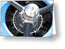 Aircraft Engine Greeting Card