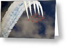 Aircrafts Greeting Card