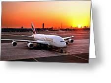 Airplane Greeting Card
