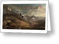 Airpower Team Greeting Card
