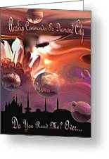 Airship Commander... Greeting Card