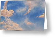 Airshow At The Lou Greeting Card by Susan Rissi Tregoning
