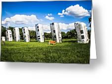 Airstream Ranch Greeting Card