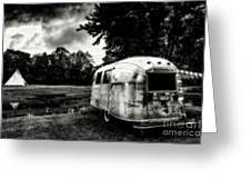 Airstream Reflection Greeting Card