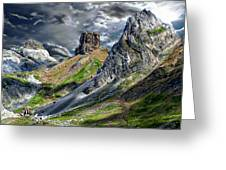 Aisa Valley Scenic Greeting Card