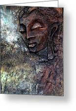 Ajanta Buddha 2 Greeting Card