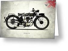 Ajs Model G6 1926 Greeting Card