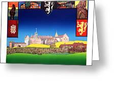 Akershus Festning -akershusfortress Greeting Card