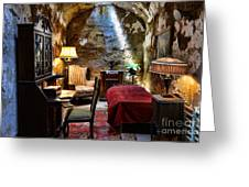 Al Capone's Cell - Scarface - Eastern State Penitentiary Greeting Card
