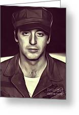 Al Pacino, Actor Greeting Card