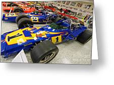 Al Unser Winning Cars At Indianapolis Greeting Card