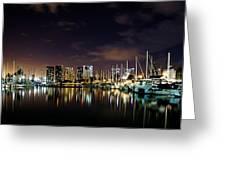 Ala Wai Boat Harbor Greeting Card