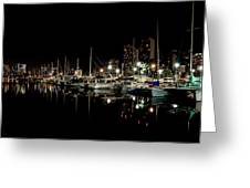 Ala Wai Boat Harbor II Greeting Card