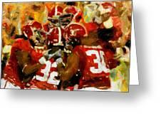 Alabama Celebrate Greeting Card